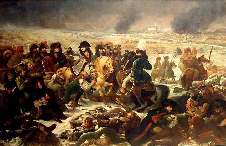Antoine-Jean Gros : Napoléon à la bataille d'Eylau (1807) (http://commons.wikimedia.org/wiki/File:Gros,_Napoleon_at_Eylau.jpg?uselang=fr)