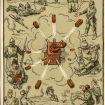 """""""Franck-Munition nach allen Fronten"""". Illustration von H. Wenng  im Weihnachtsheft 1915 der Mitteilungen der Firma Franck. Quelle: BfZ/WLB"""