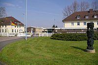 Glückauf-Kaserne in Unna (Kasernenneubau, ab 1966 genutzt, aktuell Logistikbataiilon 7, heute noch aktiv)