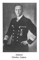 Admiral Günther Lütjens, Quelle: Walter Lohmann u. Hans H. Hildebrand, Die Deutsche Kriegsmarine 1939-1945, Bad Nauheim 1956, S. 291.