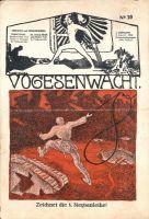 """Abbildung 1: Feldzeitung """"Vogesenwacht"""", Nr. 10 vom 9.4.1918."""