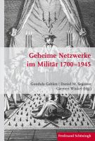 Cover Gahlen et. al. Geheime Netzwerke