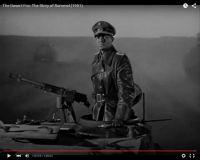 "James Mason als Erwin Rommel im Film ""The Desert Fox: The Story of Rommel"" 1951/20th Century Fox, Screenshot, auf Youtube https://www.youtube.com/watch?v=T4n48bVGom8"