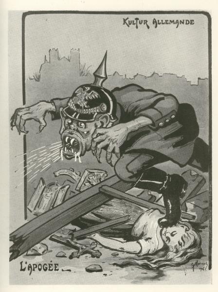 kriegsschauplätze des 1 weltkriegs