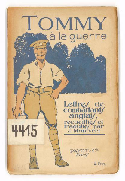 britische Feldpostbriefe, 1915 ins Französische übersetzt (aus der Sammlung der Bibliothek für Zeitgeschichte)