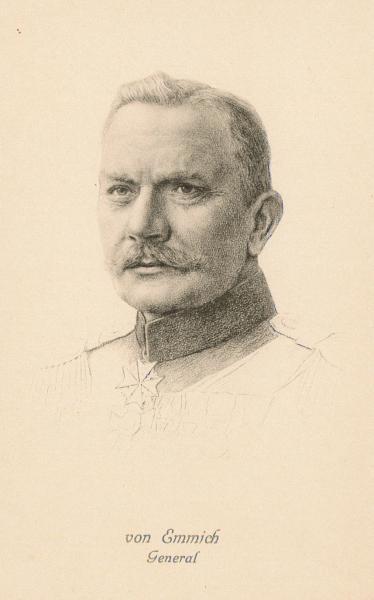Albert Theodor Otto von Emmich, Postkartensammlung der BfZ