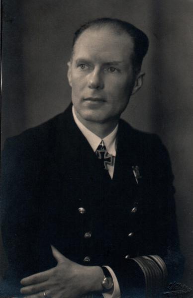 Rolf Johannesson als Konteradmiral der Kriegsmarine, Quelle: Marineschule Mürwik/Wehrgeschichtliches Ausbildungszentrum