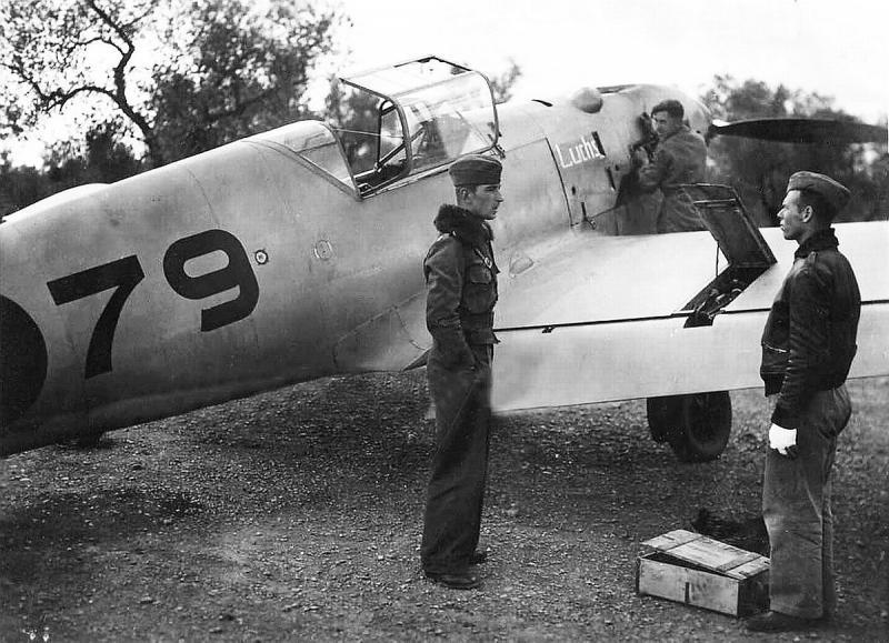 Werner Mölders als Staffelkapitän an der Ebrofront 1938