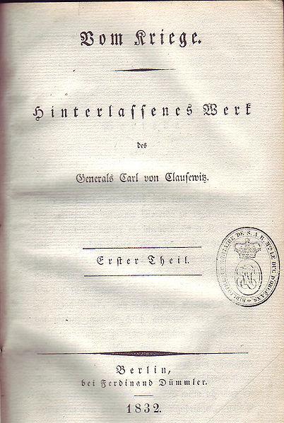Vom Kriege 1832