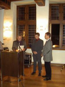 Prof. Dr. Stig Förster (1. Vorsitzender des Arbeitskreises), Daniel Rupp, M.A. (