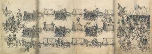 Mittelalterliches Hausbuch von Schloss Wolfegg, Mittelalterlicher Heerzug