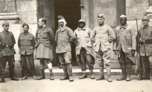 Abb. 5: Kriegsgefangene der Somme-Front. Quelle: BfZ/WLB, WK1,Nr.107
