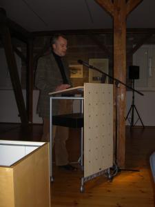 Dr. Markus Pöhlmann (Laudatio)