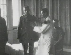 Behandlung eines Kriegsversehrten