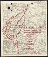 Abbildung 5: Britisches Flugblatt vom September1918: Der Sieg der Alliierten (BfZ, Signatur 1_046_007)