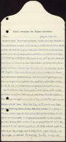 Abbildung 6: Vorder- und Rückseite eines britischen Flugblatts vom Februar 1918: Brieffaksimile Lür Herderhorst (BfZ, Signatur 1_042_007)