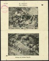 Abbildung 7: Erste Seite eines britischen Flugblatts vom Juni 1918: Wirkung des britischen Angriffs (BfZ, Signatur 1_038_006)