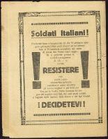 Abbildung 12 und 13: Erste und letzte Seite eines vierseitigen österreichisch-ungarischen Flugblatts von 1918 (BfZ, Signatur 1_063_006)