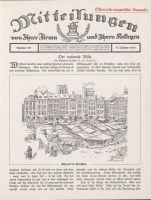 Abbildung 8: Mitteilungen von Ihrer Firma und Ihren Kollegen, Nr. 49 vom 9.10.1915, Österreich-ungarische Ausgabe.
