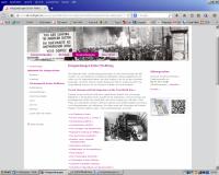 """Abbildung 9: Übersicht """"Kriegszeitungen Erster Weltkrieg"""" auf dem Themenportal Erster Weltkrieg der BfZ."""