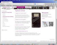 Abbildung 2: Präsentation von Tagebüchern und Feldpostbriefen im Themenportal Erster Weltkrieg der Bibliothek für Zeitgeschichte