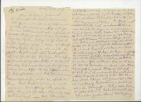 Abbildung 5: Feldpostbrief eines 18jährigen Kanoniers an seine Eltern und Geschwister, Galizien, 1.7.1917 (BfZ, N97.04)