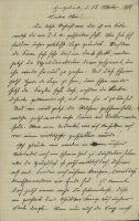 Abbildung 7: Brief eines Landwirts an seinen an der Westfront eingesetzten Sohn, Engelade, 15. Oktober 1918 (BfZ, N94.17)