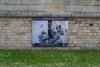 Plakat französische Marineinfanterie