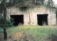 Geschoßfangkörbe für schwere Infanteriewaffen, erbaut um 1936 in Kummersdorf 1998 - Foto: Karin Nagel