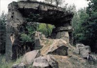Reste eines Betonbunkers zur Beobachtung von Geschoßeinschlägen 1994 - Foto: Karin Nagel