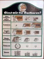 Plakat: Sind wir Barbaren? Museum Weißenfels - Schloss Neu-Augustusburg Inv.-Nr. V 547 T (Creative Commons Lizenz 3.0, by-nc-sa)