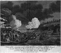 Landung bei Fort Royal 1794 - National Maritime Museum, Greenwich London