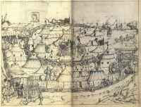 Mittelalterliches Hausbuch von Schloss Wolfegg, Heerlager (Wagenburg)