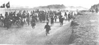 Soldaten der 36. Division der Nationalrevolutionären Armee bei Hami/Kumul im Jahr 1933 - Wikimedia Commons
