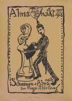 """Abb. 1: AAlmanach der """"Bösen Buben"""" [1917/18], Rückseite des Titelblatts"""