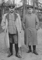 Die 3. Oberste Heeresleitung: Paul von Hindenburg und Erich Ludendorff, September 1916 (Bundesarchiv_Bild_146-1970-073-47)
