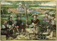 Hans Döring, Ansicht von Lich von Süden (1545)