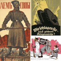 """Collage: digitale Ausstellung """"1918: Zwischen Weltkrieg und Revolution"""""""