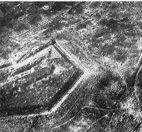 Das Bild zeigt das Fort Douaumont 1916