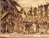 Pogrom von Durmenach 1848 (Cabinet des Estampes, Strasbourg)