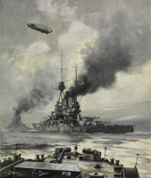 "Oscar Parkes´ ""SMS Bayern - The Pride of the German Fleet"""