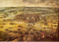 """Gemälde """"Die Einnahme der Stadt Neunburg am Walde, 18. bis 21. März 1641"""" von Pieter Snayers (Quelle: commons.wikimedia.org, public domain)"""