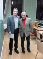 Stefan Noack (Preisträger) und Prof. Dr. Stig Förster (1. Vorsitzender)